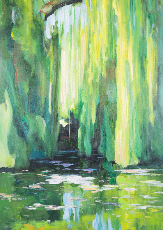 Jade Pool Mirror, 2010 by Han Xin