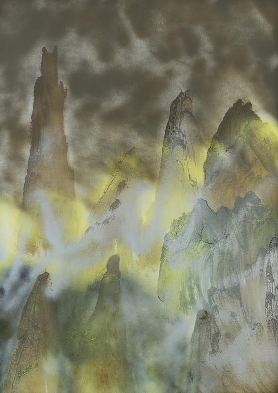 Copper Hills, 1982 by Sir Sidney Nolan